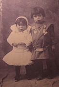 010-Frieda and Bernie Moraga circa. 1907