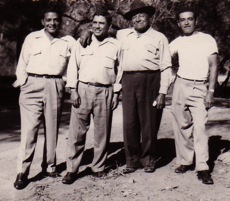 020-Tony Moraga and sons Rudy and Toney circa 1948
