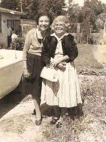 021-Bertha 'Chiquita' Moraga and Rose circa 1948