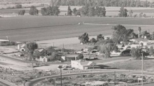 Great photo provided by Roxanne Mueller of old El Rio near the intersection of Highway 101 and Vineyard Avenue in Oxnard. The building was known as the Doghouse bar with plenty of great stories to tell about it. Roxanne said the photo also shows her old house on Mrytle Street. Just to the left of the Doghouse is El Rio Drive where just out of the picture were the homes of Bertha, Evelyn and Toney Moraga.
